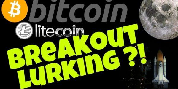 BITCOIN LITECOIN BREAKOUT LURKING!? bitcoin litecoin price prediction, analysis, news, trading − 稼げる投資系口コミ情報サイト【Trade Center】