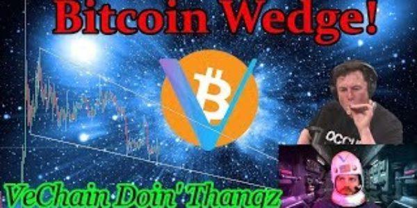 Bitcoin Live : BTC Wedge. VeChain (VET) Doin' Thangz! Ep. 755 – Crypto Technical Analysis − 稼げる投資系口コミ情報サイト【Trade Center】