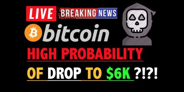 "BITCOIN: ""HIGH PROBABILITY"" OF DROP TO $6K?❗️LIVE Crypto Analysis TA & BTC Cryptocurrency Price News − 稼げる投資系口コミ情報サイト【Trade Center】"