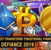 Bitcoin, Ethereum, EOS: Is the Future of Finance Decentralized? | Crypto DeFiance 2019 − 稼げる投資系口コミ情報サイト【Trade Center】