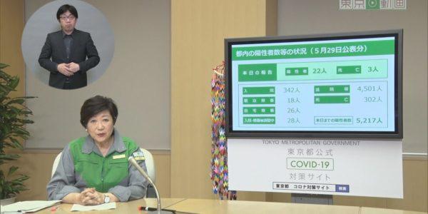 令和2年5月29日 東京都新型コロナウイルス感染症最新情報 ~小池知事から都民の皆様へ~ <アーカイブ版> − アフィリエイト動画まとめ